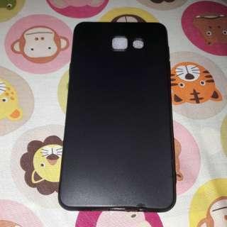 Case Slim Black Matte Samsung J7 Prime Softcase Anti Minyak
