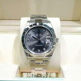 全錶原裝膠紙未撕 未改錶帶 確保全新未用品  Rolex 126334 G DATEJUST 41MM 行貨888