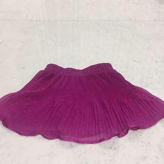 Short skirt fuchsia