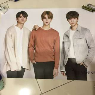 Wannaone x LensNine Poster