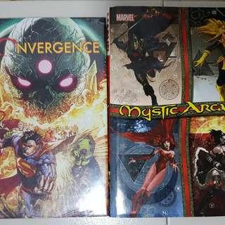DC Convergence & Marvel Mystic Arcana Comics