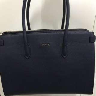 Furla handbag (Navy)