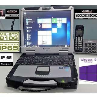 Panasonic CF-31 Full Rugged Win10pro Toughbook