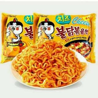 Samyang Spicy Noodles Cheese