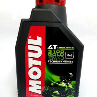 Original motul 3100 gold 10w40/15w50