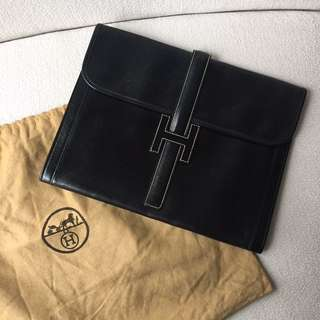 AUTHENTIC HERMES Jige Clutch
