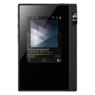 (NEW) Onkyo DP-S1 Hi-Res Music Player (Black Unit. Import from Japan)