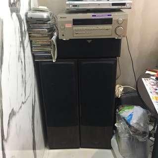 PIONEER Amplifier & Speakers