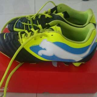 Football shoes (Puma PWR-C and Nike Mercurial)