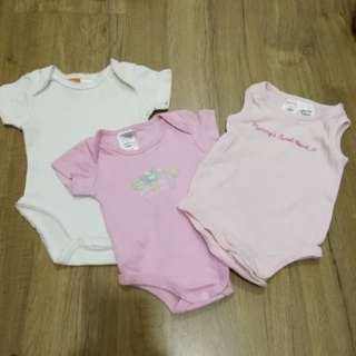 NB Baby Rompers (3pcs)