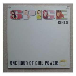 SPICE GIRLS ONE HOUR OF GIRL POWER LASERDISC