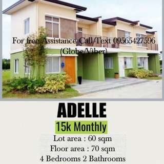 ADELLE TOWNHOUSE (READY FOR OCCUPANCY)