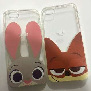 優獸大都會 zootopia judy nick iphone6case
