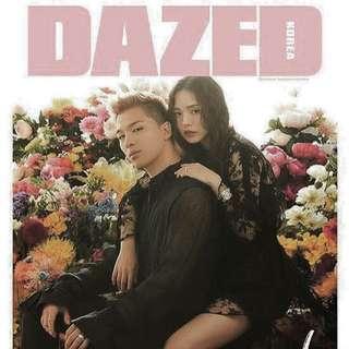 Bigbang dazed taeyang special edition