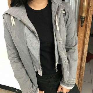 jaket jeans size s
