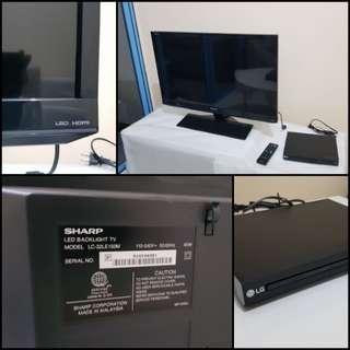 Sharp brand new tv
