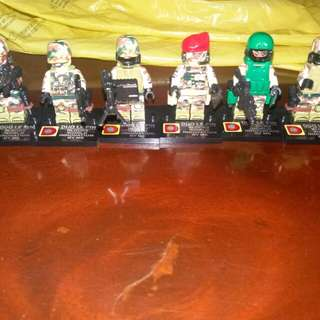 Philippine Special Forces-inspired LEGO-like Minifigures