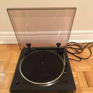 Record Player: Denon Turntable, model DP-29F