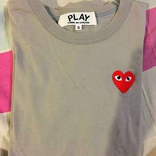 CDG Authentic Grey Shirt