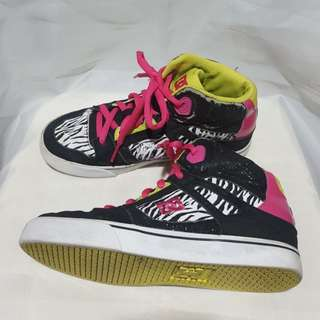 Authentic DC sneakers/rubber shoes for girls