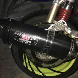 Yoshimura R77 Full system with cert  for revo