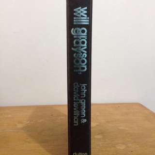 Will Grayson, Will Grayson (hardcover) #MoveOn