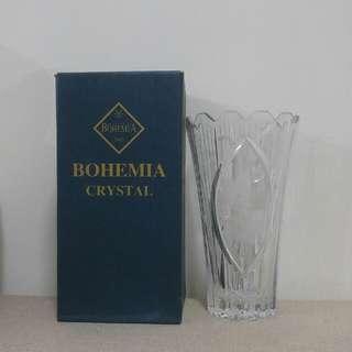 Bohemia Crystal Vase + Freebie