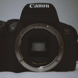 Canon EOS 650D Bundle