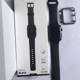 Apple Watch 42mm Space Black Stainless Steel