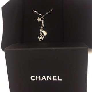 Chanel 鑽石頸鏈