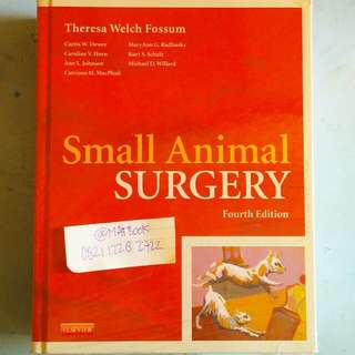 SMALL ANIMAL SURGERY 4ED