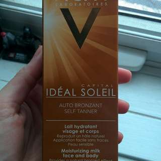 Vichy Capital Idéal Soleil Self Tanner*Face and body*New