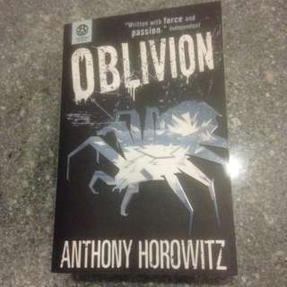 Special! OBLIVION by Anthony Horowitz