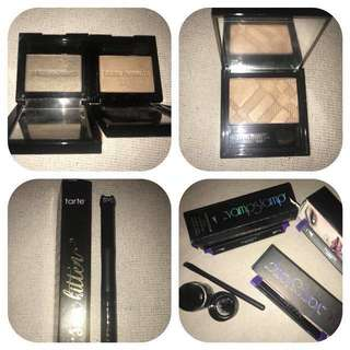 Bulk listing part 2 - high end makeup: foundations, blushes, bronzers, eyeliners, powders, eyebrow, brushes, skincare and more