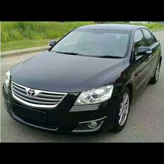 2008 Toyota Camry,2.4auto,Pust Start track use