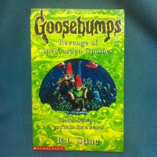 Goosebumps Revenge of the Garden Gnomes