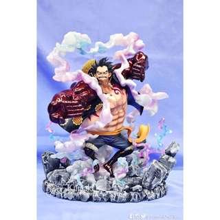 One Piece 海賊王 pop 四檔路飛特效地台 Gear Forth Luffy (pm查詢製作)
