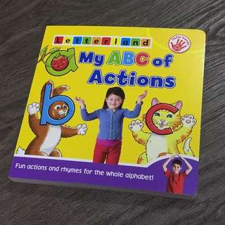 Letterland My ABC of Actions