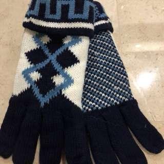 Men's winter gloves
