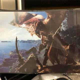 Monster hunter world PS4 controller skin decal