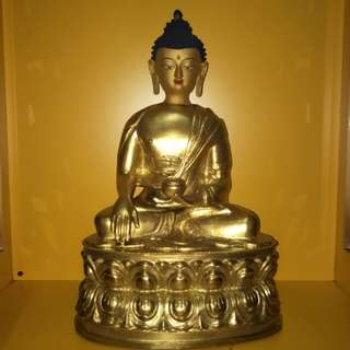 Tibetan Sakyamuni Buddha statue