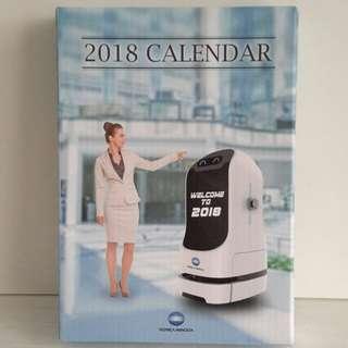 2018年 月曆