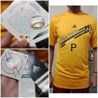 NEW,Kaos Baseball McCuthen Pirates