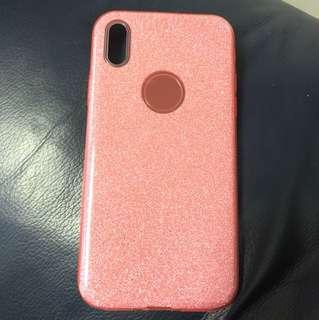 IPhone X Glitter Case Pink