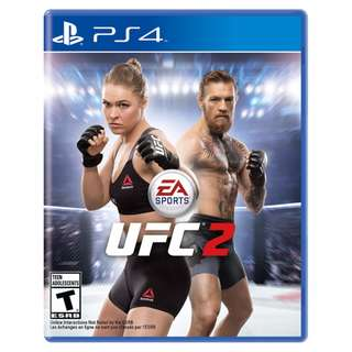 (Brand New Sealed) PS4 Game UFC 2