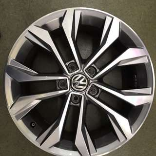 17 5x112 vw original wheel