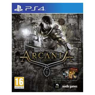 (Brand New Sealed) PS4 Game Arcania.
