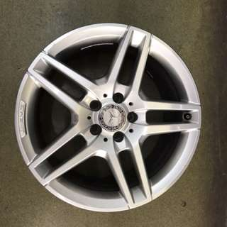 18 5x112 mercedes original used rim 1 set $800