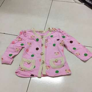baby girl pink outerwear #springclean60