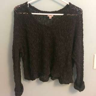Ecote cropped sweater